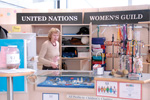 United Nations Women's Guild gift counter